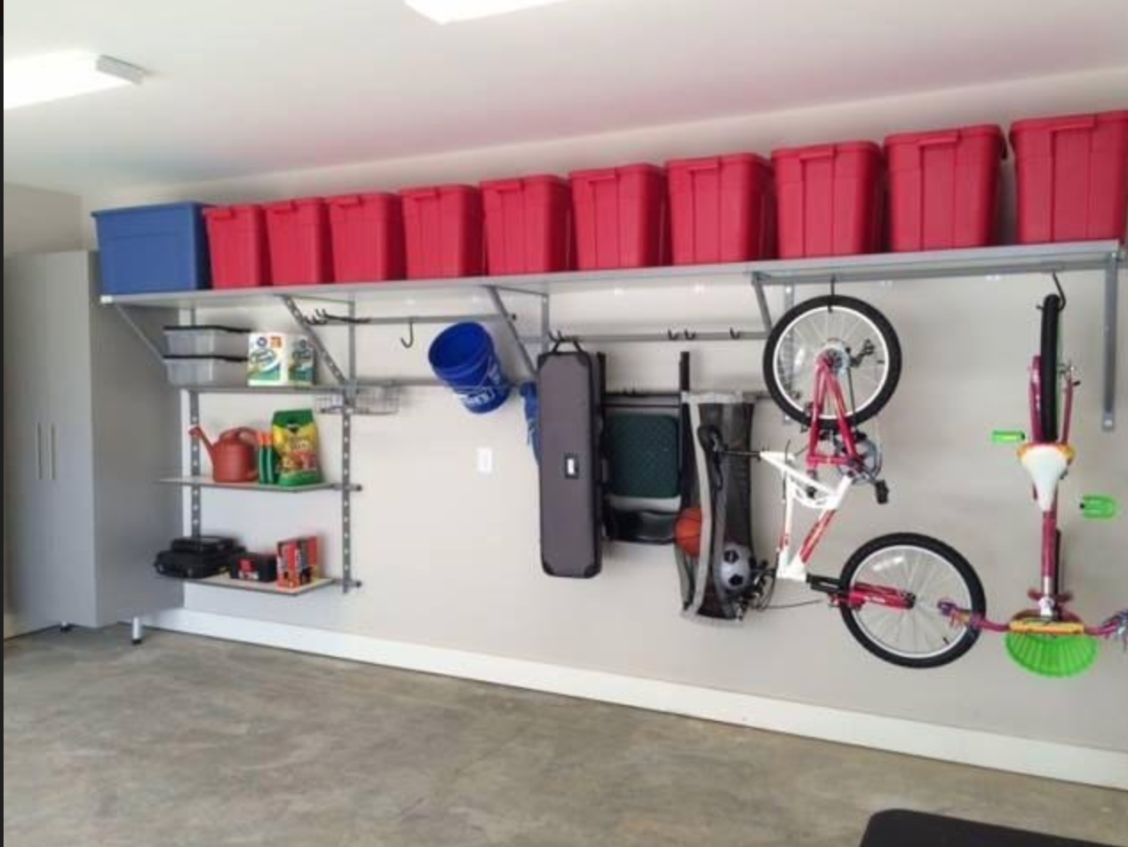 Organize Garage Door