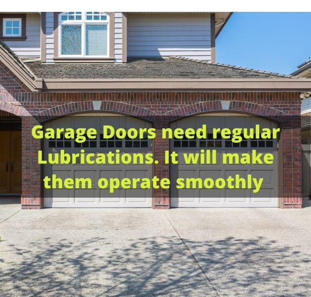Garage Door Lubrication